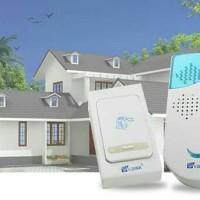 Bel Pintu Rumah Wireless Tanpa Kabel 32 Musik up to 100 m