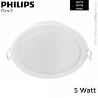 Lampu Downlight LED Philips 5W 59447 Meson Gen 3 Putih White 5 W