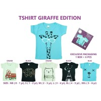 KAZEL TSHIRT GIRAFFE EDITION 6IN1