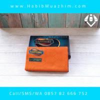 Sarung Tenun Sapphire Polos Tumpal ( PWD ) Pls Wrn Doby - Oranye Ceria