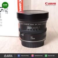 SECONDHAND - Canon Efs 15mm f2.8 - Gudang Kamera Malang