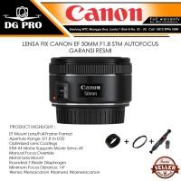 LENSA FIX CANON EF 50MM F1.8 STM AUTOFOCUS - GARANSI RESMI