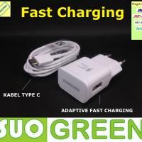 [ORIGINAL] Fast Charger Samsung Origina Kabel Tipe C S8 C9 A5 A7 (7)