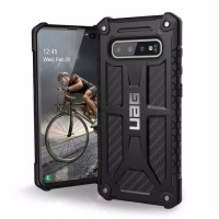 UAG Samsung S10 Case Monarch - Black Carbon
