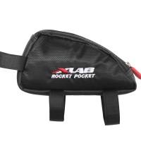 Triathlon Cycling Top Tube Stem Bag XLAB Rocket Pocket Bike Snack Storage