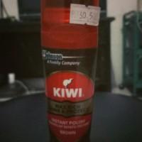 Kiwi semir sepatu cair (brown) 75ml