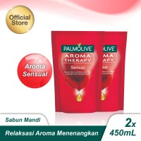 Palmolive Shower Gel Sensual 450ml - 2pcs (As2-114839-8850006494028)
