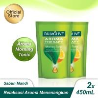 Palmolive Shower Gel Morning Tonic 450ml - 2pcs (As2-114841-885000649)