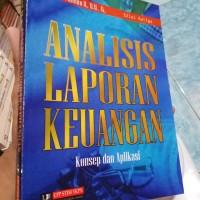 Analisis laporan keuangan konsep dan aplikasi