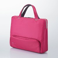 Elecom Betsumo Carrying Back up to 15.4-inch Wide - Pink