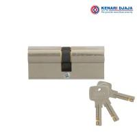 Kunci Pintu Euro Plus Double Cylinder KEND KE610-10 US14