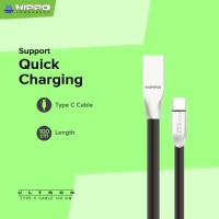 Hippo Ultron Kabel Data Charger USB Type C 100 CM