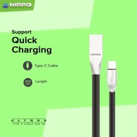Hippo Ultron Kabel Data Charger USB Type C 200cm