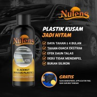 BlackNut 95ML - Penghitam Plastik Body Motor / Plastik Mobil By Nutens