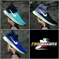 Sepatu Nike Zoom High Pria Running Futsal Sekolah Kuliah Lari Sport