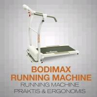 Bodymax running machine - treadmill - gym - fitnes - olah raga