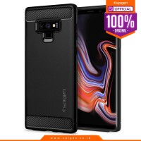 Case Galaxy Note 9 Spigen Carbon Fiber Softcase Rugged Armor Casing