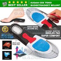 Alas Kaki Sepatu Sol Dalam Shock Absorb Gel Orthotic Super Comfort