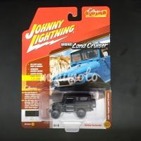 JOHNNY LIGHTNING GOLD CLASSIC 1980 TOYOTA LAND CRUISER FJ40 BLACK