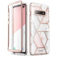 Case Galaxy S10 i-BLASON Cosmo with Screen Protector Original -Marble