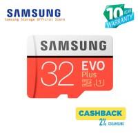 Samsung Evo PLUS 32GB MicroSDHC UHS-I Class 10 + SD Adapter