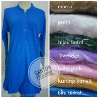 Polo Shirt - Atasan Wanita Kaos Polo Jumbo XXL