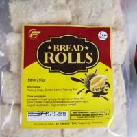Roti goreng bread rolls isi durian coklat