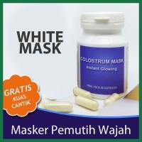 Glow Whitening Mask Colustrum Synergy Ampuh Aman Dan Terbukti