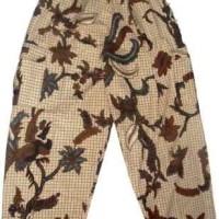 Celana Panjang Batik Jogja Corak Bunga