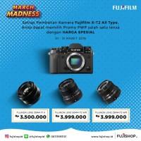 FUJIFILM XT2 BODY ONLY PWP 35mm f1.4 Resmi Fujifilm Indonesia 1Th