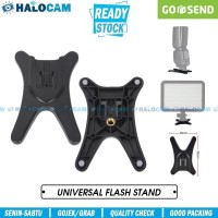 Universal Flash Speedlite Stand Hot Shoe Kaki Bebek Flash Canon Nikon