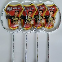 Raket Badminton Hi-Qua SHINING Sp. OVAL ORIGINAL HiQua Batang Kosongan