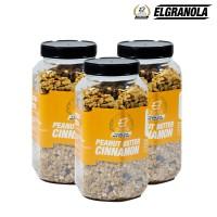 El Granola Peanut Cinnamon 300 Gr