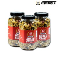 El Granola Mixed Fruit 300 Gr