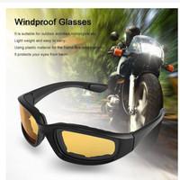 Kacamata Motocross Anti Debu Polycarbon UV400 Motor - Olahraga Outdoor