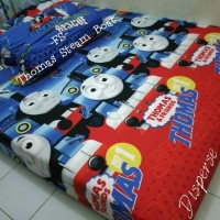 SPREI HOMEMADE KARAKTER ANAK MOTIF Thomas Steam Boat SIZE 120X200