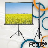 Focus Tripod Screen 96 inch