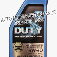 OLI, OLI FK, OLI MOBIL, (AMP), DUTY CJ-4 100% SYNTHETIC, 5W30, 1 L