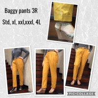 Baggy Pants 3R Original SUPER JUMBO Size 3XL - 4XL