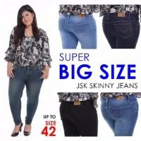 Celana jeans wanita big size casual murah skinny casual terlaris