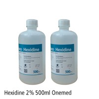 Cairan Dental Hexidine 2% 500ml Onemed Dental