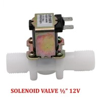 "Solenoid Valve 12V 1/2"" Water Electric Kran Keran Air Elektrik"