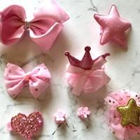 jepitan rambut pink