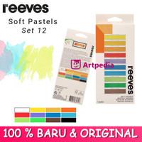 REEVES Soft Pastels 12 pcs