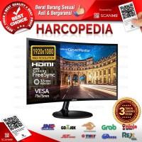 Monitor LED Samsung C24F390 24 inch Curved VGA+HDMI Input