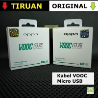 [ORIGINAL] Kabel Data Oppo VOOC Flash Charge Original F1 F3 Plus R5 R7