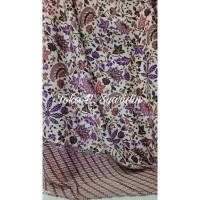 Limited Bahan Batik Satin Silk Per Meter / Kain Batik Meteran
