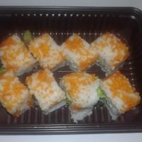 Sushi California Roll set HALAL ala Chef Hotel Shangrilla