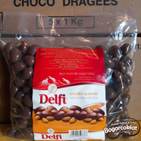 Coklat Delfi Almond 1kg