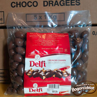 Coklat Delfi Mede/Almond 500gr